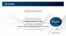 Autoryzowane Centrum Certyfikacyjne Dassault Systemes